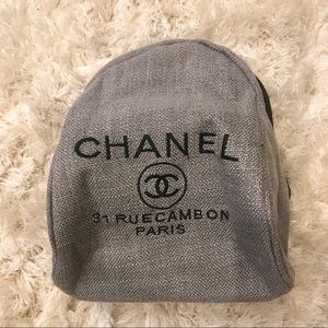 Chanel Canvas Back Pack